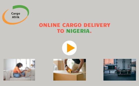 cargo to Nigeria from UK